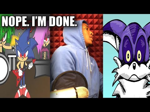 RUINING MY CHILDHOOD ONE ANIMATION AT A TIME | Sonic Shorts Volume 3 Reaction