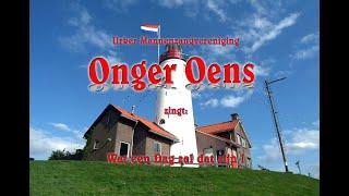 """Urker Mannenkoor """"Onger-Oens"""" zingt op Zaterdag 14 mei 2011 voor de..."""
