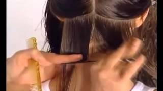 Французская стрижка на густые волосы