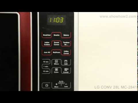 Lg Mc 2841sps Convection Microwave Oven How To Use Combination Mode 1