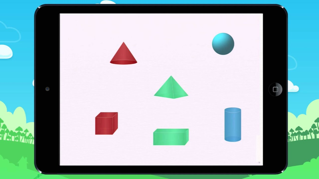 Learn The Difference Between 2d 3d Shapes Lesson Youtube