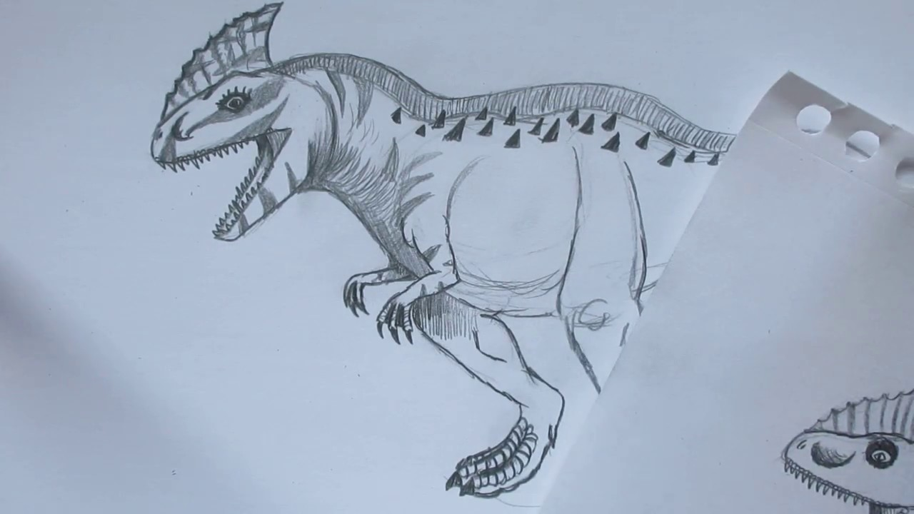 How to Draw Rajastega from Jurassic World the Game Danny