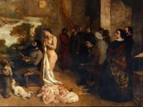 El taller del pintor 1855 gustave courbet youtube - El taller de pinero ...