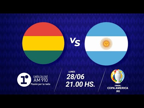 BOLIVIA VS ARGENTINA - EN VIVO - COPA AMÉRICA 2021