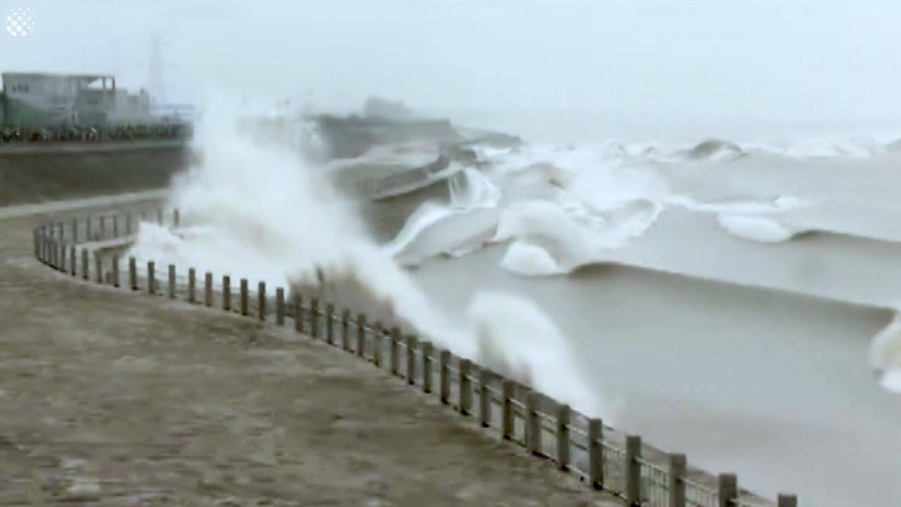 מרהיב לעיני המוני תיירים: רגעי הגאות ושפל בנהר הקיאנגנג בסין