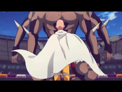 One Punch Man Saitama Vs Bakuzan & Goketsu Sub Indo