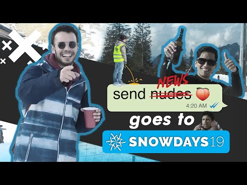 Send News tests people's knowledge about South Tyrol @ Snowdays 2019