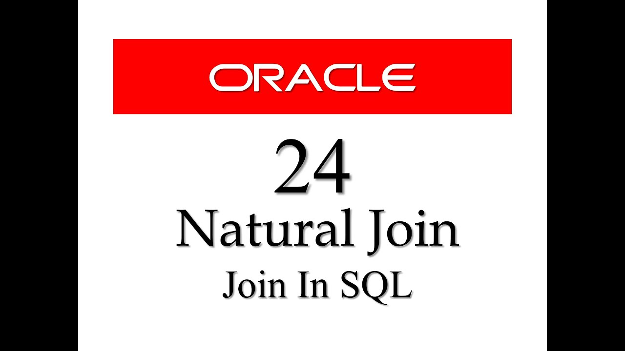 Natural Join With Using Clause In Sql