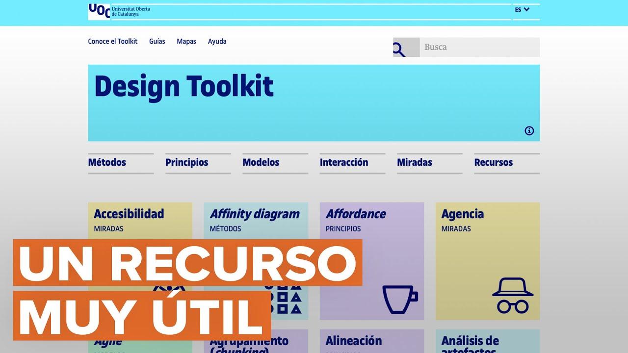 El Design Toolkit de la Universidad Abierta de Cataluña
