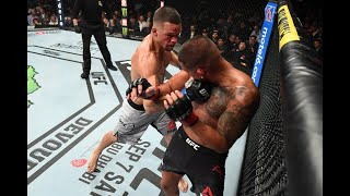 """Celebs & UFC Fighters reacts to Nate Diaz defeating """"Showtime"""" Anthony Pettis at UFC 241 Video"""