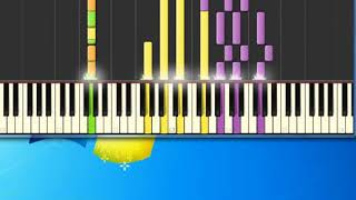 Helen Reddy   i am woman [Synthesia Piano] [Piano Tutorial Synthesia]