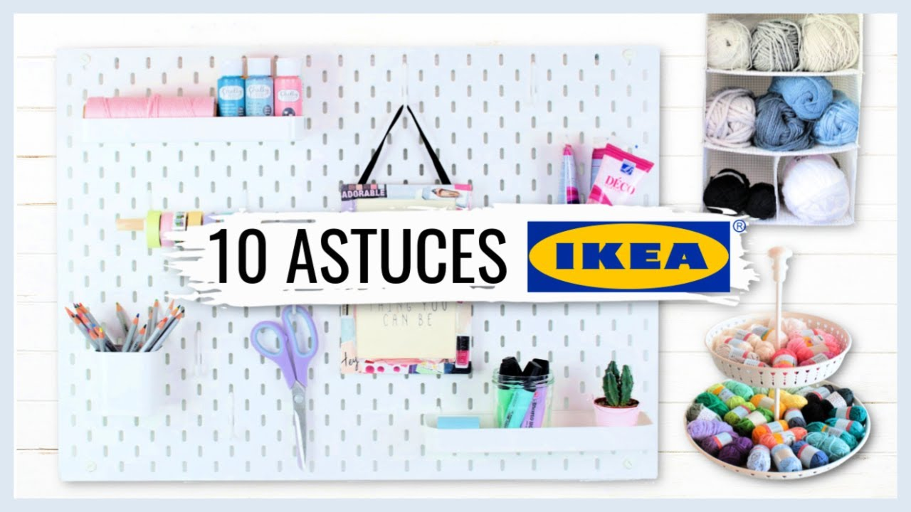 10 Astuces De Rangement Ikea Youtube
