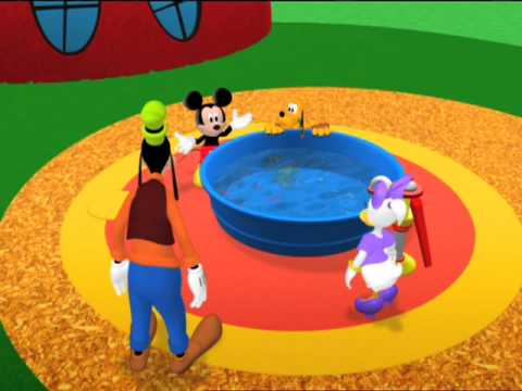 Plutos Bubble Bath - Mickeys Big Splash