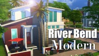 The Sims 4 | Speed Build: River Bend Modern