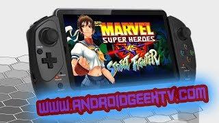 Marvel Super Heroes vs  Street Fighter Para Android | Sin Emulador | AndroidGeekTv