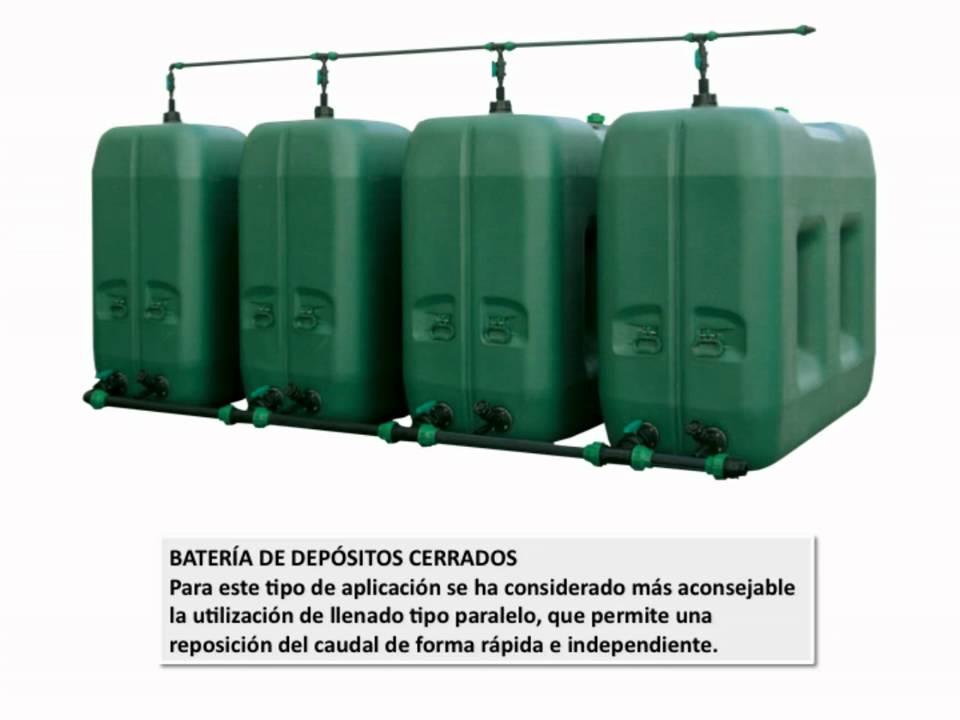 Depositos de agua youtube for Poca presion de agua