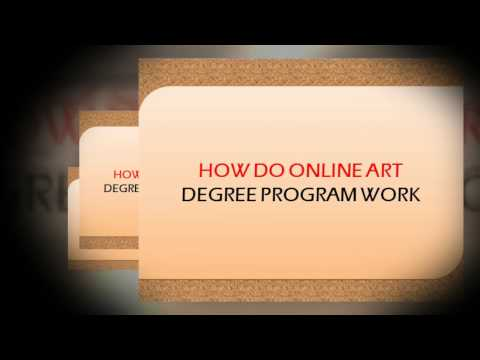 Online Art Degrees What You Can Expect