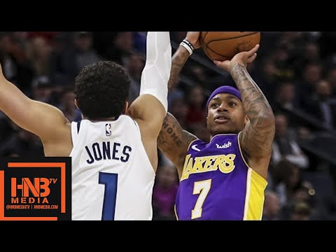 Los Angeles Lakers vs Minnesota Timberwolves Full Game Highlights / Feb 15 / 2017-18 NBA Season