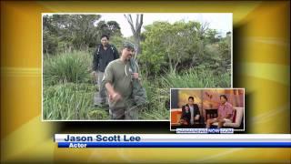 Jason Scott Lee.- Sunrise Hawaii News Now - The Rain Follows the Forest