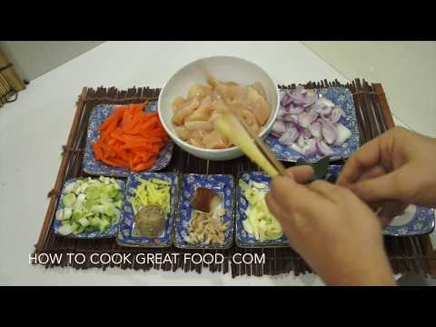 Easy Thai Chicken Curry Recipe - Super easy video recipe