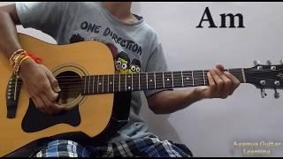 Dekhte Dekhte (Atif Aslam) - Guitar Chords Lesson+Cover, Strumming Pattern, Progressions