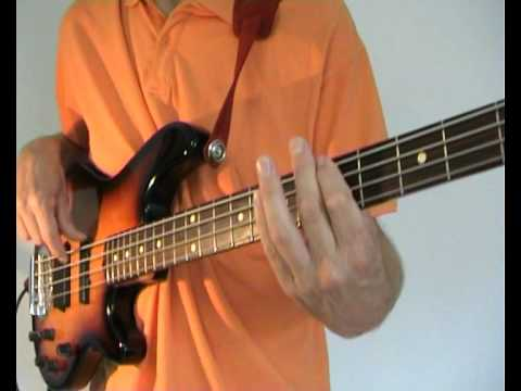 The Police - Message In A Bottle -- Bass Cover