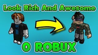 ROBLOX | HOW TO LOOK RICH/LIKE PRO PEOPLE WITH 0 ROBUX! [2018]
