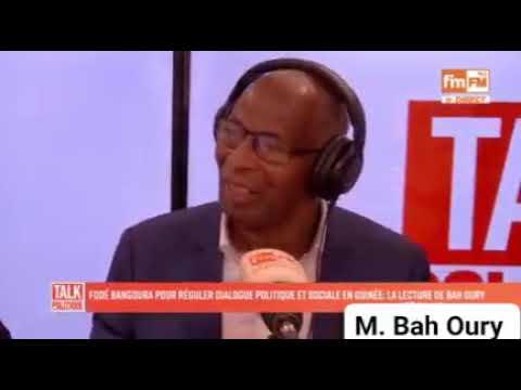 """Bah Oury Était L'Invité Sur l'Emission """"À Bâton Rompus"""""""""""
