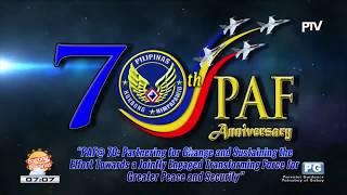 Philippine Air Force 70th Anniversary
