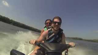 Jet Ski on Mississippi River