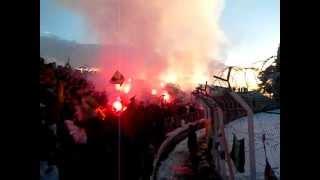 USMH ღ Craquage Ultras Yellow Castle â Sétif 2013