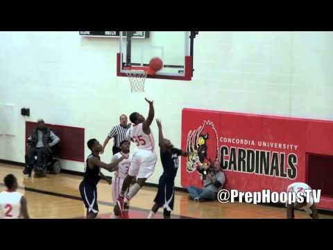 Kaion Seales 2013 Westside Christian Academy at the Winter Breakout