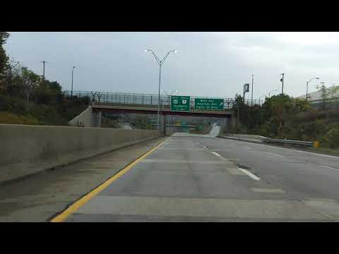 Youngstown Innerbelt Freeway - North Leg eastbound