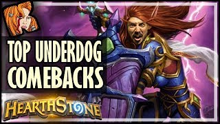 TOP 10 Underdog Classic Cards That Made A COMEBACK! - Rastakhan's Rumble Hearthstone