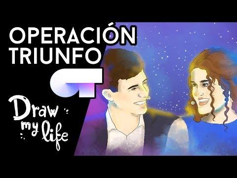 TODO sobre OT (Operación Triunfo) - Draw My Life en Español