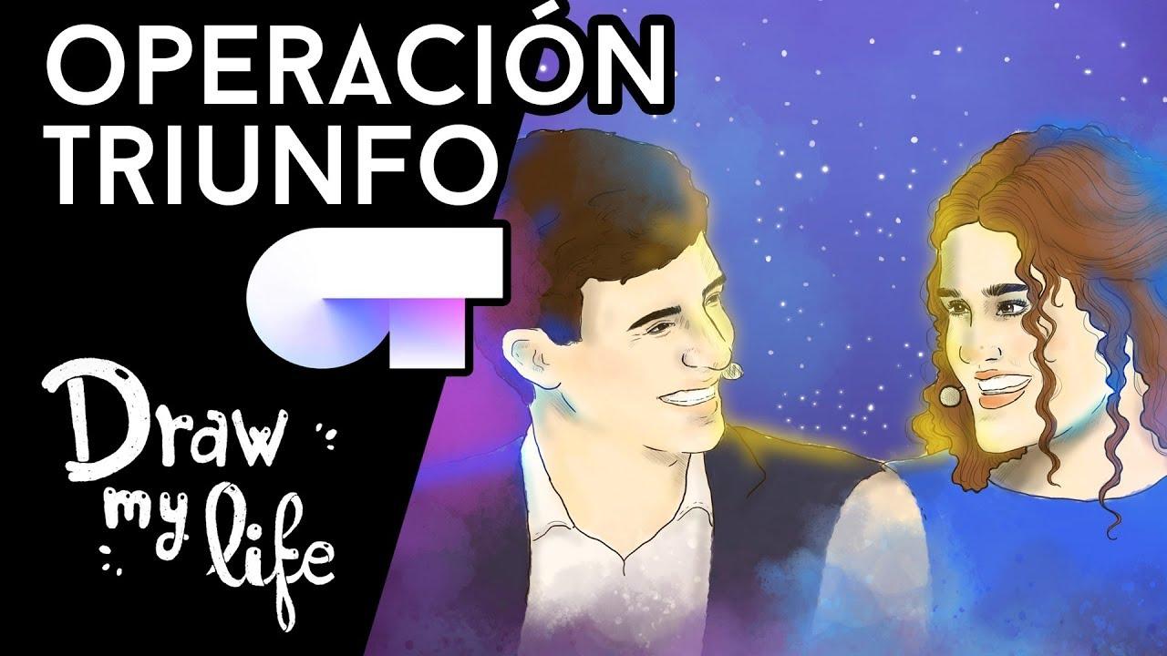 TODO sobre OT (Operación Triunfo) - Draw My Life