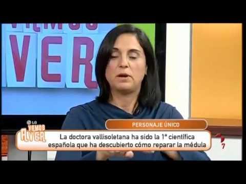 LA PARAPLEJIA TIENE CURA, DOCTORA ALMUDENA CUETO