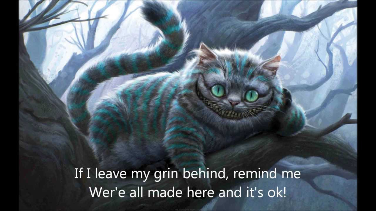 Cheshire Kitten We Re All Mad Here By Sj Tucker Youtube