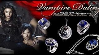 Три кольца из фильма дневники вампира  Часть 2 Посылка из Китая
