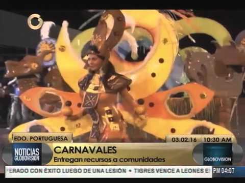 Alcaldía de Guanare entregó Bs. 365 mil recursos para participantes del carnaval