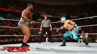 The Lucha Dragons vs. The New Day Raw, April 20,2015