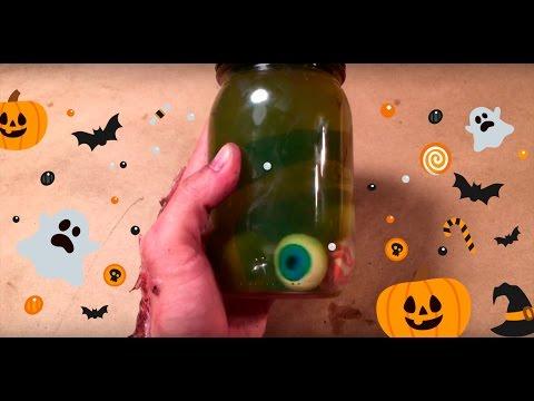 DIY: Espeluznantes ojos para Halloween