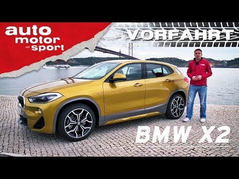 BMW X2: Was kann das Nischen-SUV? - Vorfahrt (Review) I auto motor und sport