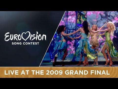 Elena - The Balkan Girls (Romania) Live 2009 Eurovision Song Contest