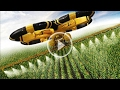 Primitive Technology vs World Amazing Modern Agriculture Equipment and Mega Machines Progress