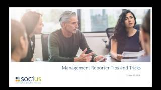 Management Reporter Tips and Tricks