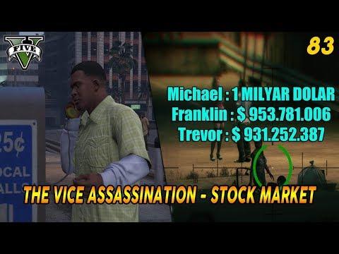 PANDUAN MISI & SAHAM GTA 5 (83) THE VICE ASSASSINATION 100% COMPLETION / GOLD MEDAL