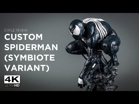 Statue Review - Custom 1:4 Scale Amazing Spiderman (Symbiote Variant)