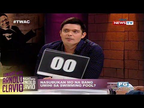 Tonight with Arnold Clavio: Dingdong Dantes on a hot seat in 'Nasubukan mo na ba?'