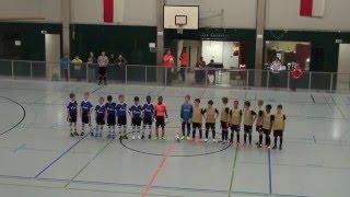 1. FSV Mainz 05 U10 vs. FC Schalke 04 U10 2:4; FINALE Indoor Masters Unna 2014